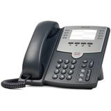 Cisco SPA501G IP Phone, 8 Voice Lines, 2x 10/100 Ports, PoE Support