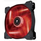 Corsair ventilátor Air Series AF140 LED Red Quiet Edition, 140mm, 25dBA