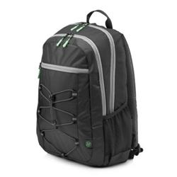 HP 15.6 Active Backpack (Black/Mint Green)