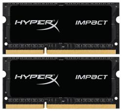 Kingston DDR3L 8GB (Kit 2x4GB) HyperX Impact SODIMM 1.35V 1866MHz CL11 černá