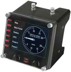 LOGITECH G Saitek Pro Flight Instrument Panel - USB - EMEA - FLIGHT INSTRUMENT PANEL