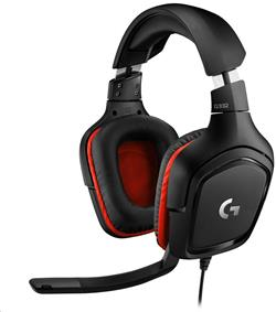 Logitech® G332 Gaming Headset LEATHERETTE- EMEA