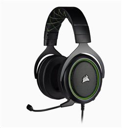 Corsair herní sluchátka HS50 PRO Stereo Green