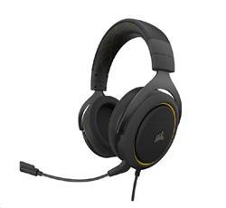 Corsair herní sluchátka HS60 PRO Surround Yellow