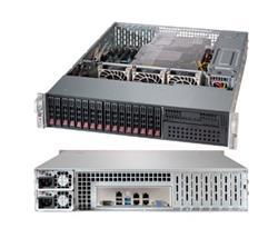 "SUPERMICRO 2U chassis 12G, 16x 2,5"" HS SAS/SATA (4x SFF 8643), 1x 5,25"", 2x920W (Platinum)"