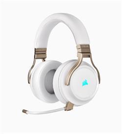Corsair herní sluchátka Virtuoso Wireless Pearl