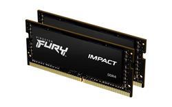 Kingston FURY Impact DDR4 64GB (Kit 2x32GB) 2933MHz SODIMM CL17