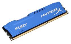 Kingston DDR3 4GB HyperX FURY DIMM 1866MHz CL10 modrá