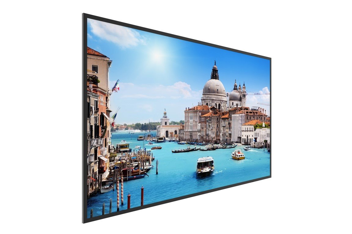 Prestigio Indoor DS LCD 55'' 4K UHD 3840*2160, D-LED, 350cd/m2, HDMI, VGA, USB 2.0, RS232