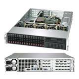 Supermicro A+ Server WTRT/2U Epyc 7351-SP3,16x HS 2,5'' SATA3, Dual 10GB LAN, PSU 1200W Redundant,IPM